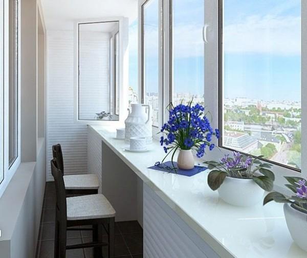 дизайн маленького балкона в хрущёвке
