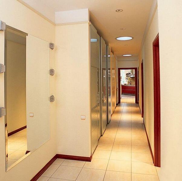 дизайн очень узкого коридора в квартире фото