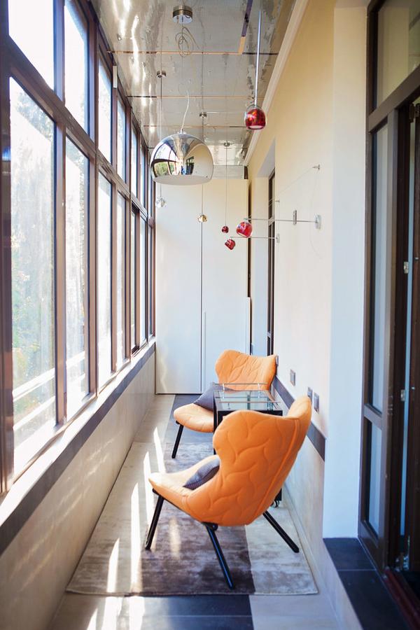 дизайн шкафчиков на балкон фото
