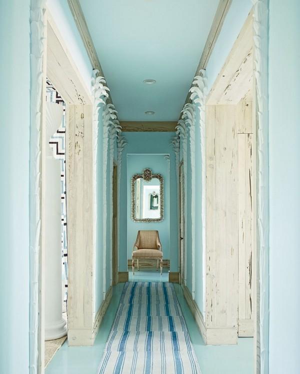 дизайн узкого коридора в панельной квартире