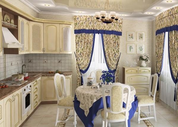 фото угловой кухонный гарнитур для небольшой кухни классика