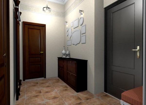 идеи дизайна коридора в квартире