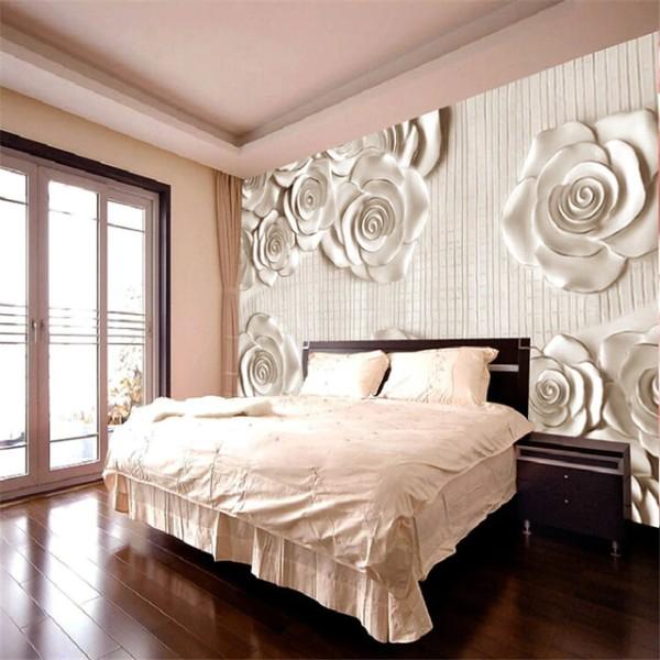 как скомбинировать фотообои с обоями в дизайне спальни