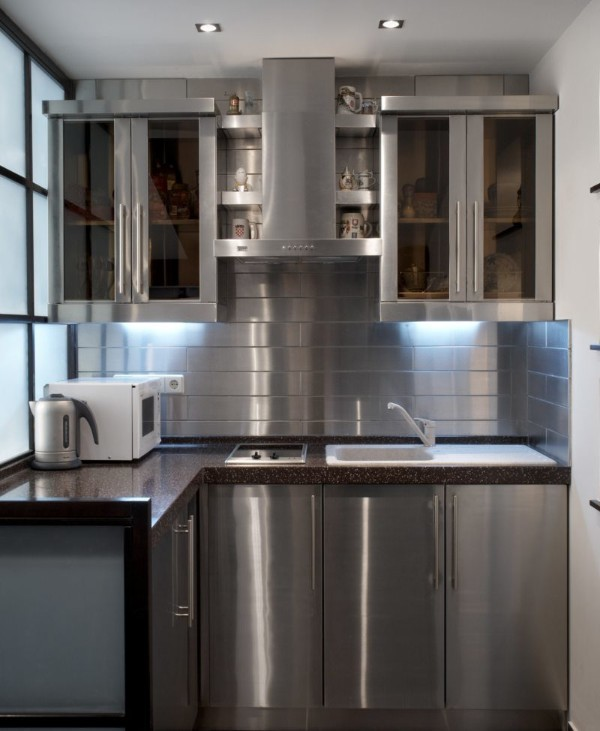 Угловые кухни для маленькой кухни, фото 2