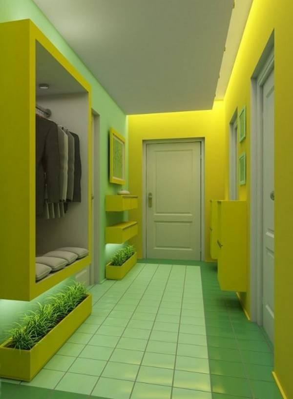 коридор дизайн в квартире идеи
