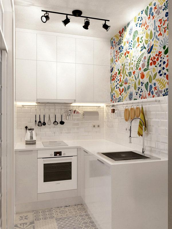 кухонный гарнитур для маленькой кухни маленький