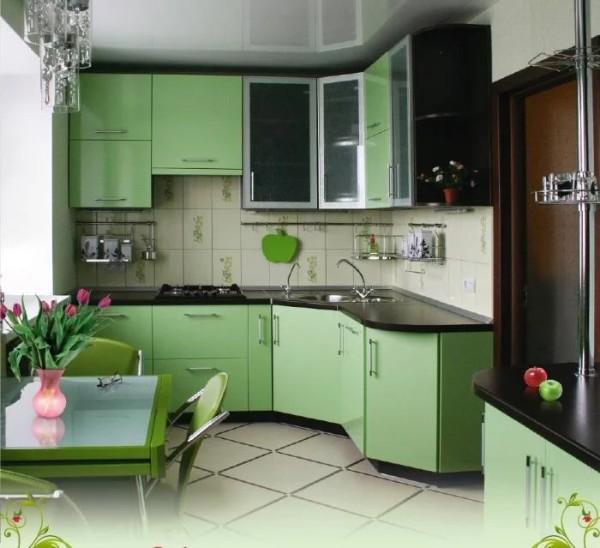 кухонный гарнитур углоовй для кухни 9 кв. м.