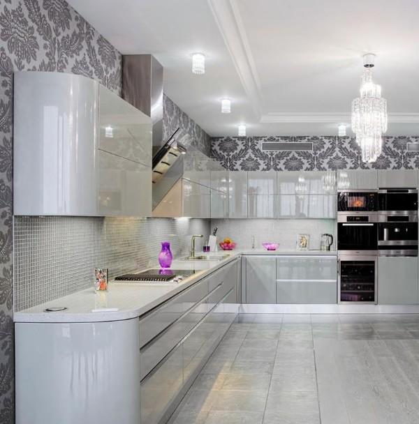 кухонный гарнитур угловой для кухни фото