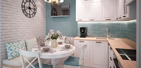 кухонные уголки для маленькой кухни угловые