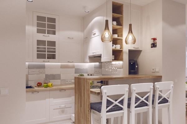 маленькая угловая кухня в хрущёвке