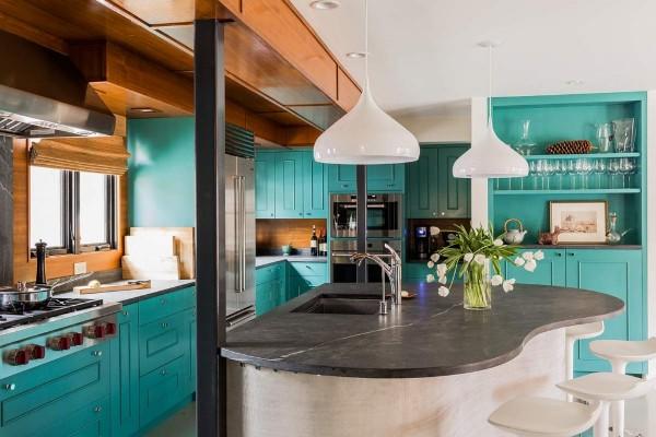 модель кухонных гарнитуров угловых для большой кухни
