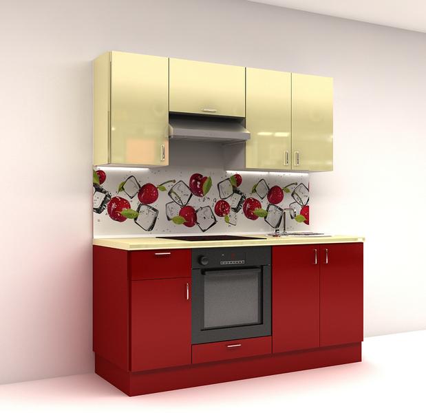недорогой кухонный гарнитур для маленькой кухни