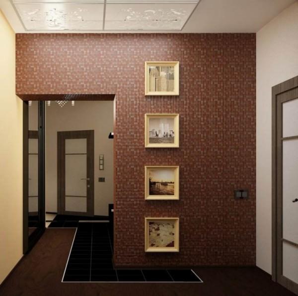 оригинальный дизайн коридора в квартире