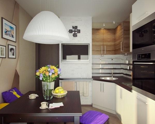 оригинальный дизайн маленькая угловая кухня для маленькой кухни с угловой мойкой