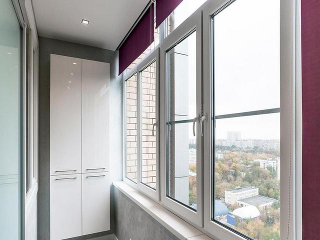 шкафчики на балконе дизайн фото примеры