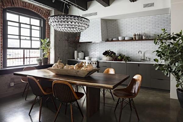 сочетание цвета фасада кухни
