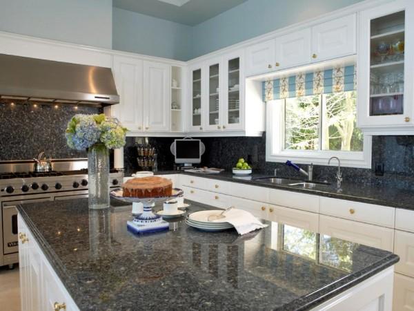 стильный интерьер угловой кухонный гарнитур для кухни