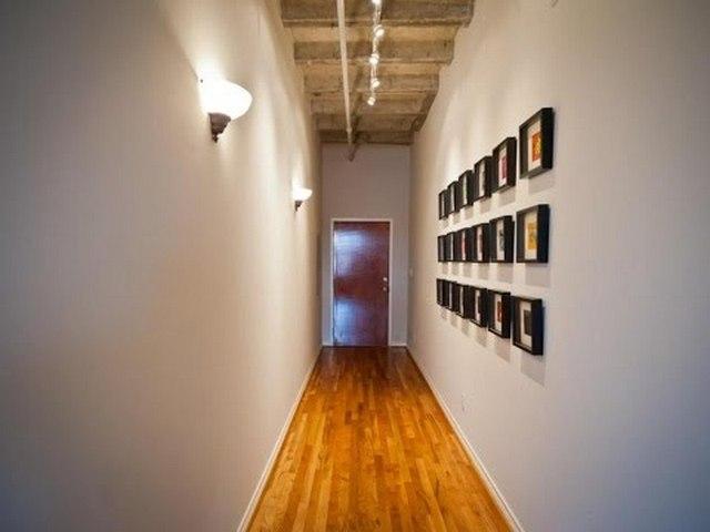узкий длинный коридор в квартире дизайн