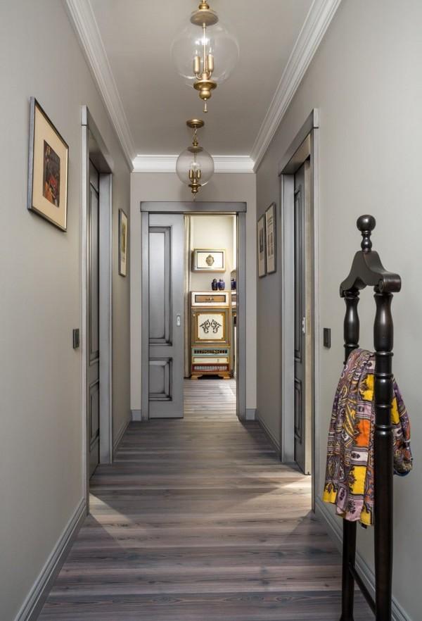 узкий коридор дизайн фото в квартире