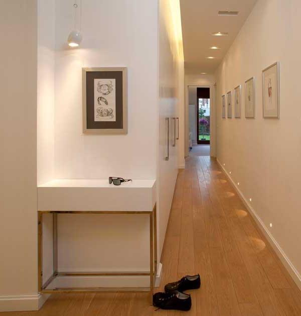 узкий коридор дизайн фото в квартире хрущёвка