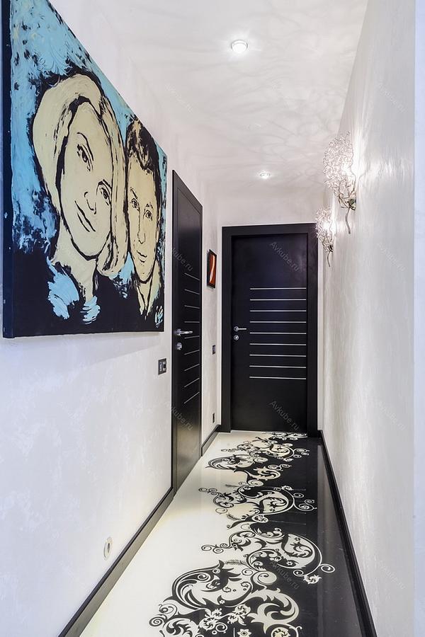 узкий коридор дизайн фото в квартире хрущёвке