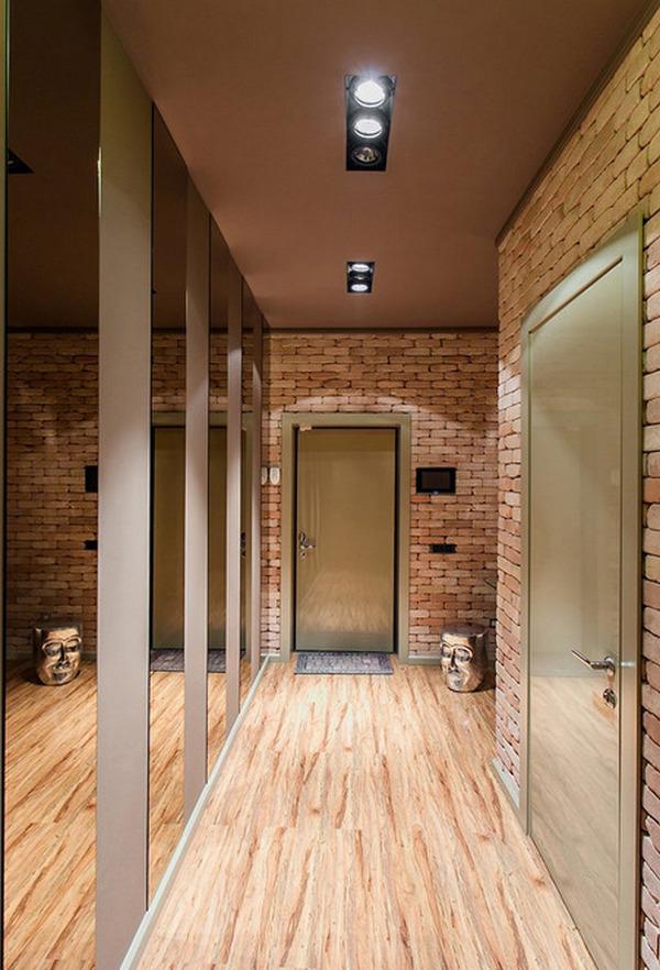 узкий маленький коридор дизайн фото в квартире