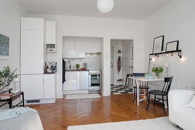кухня в квартире студии дизайн