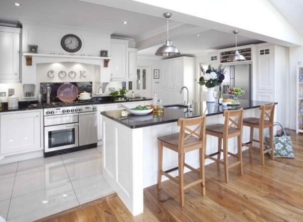 дизайн кухни студии скандинавские элементы стиля