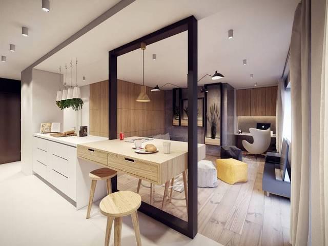 дизайн кухни гостиной 25 кв.