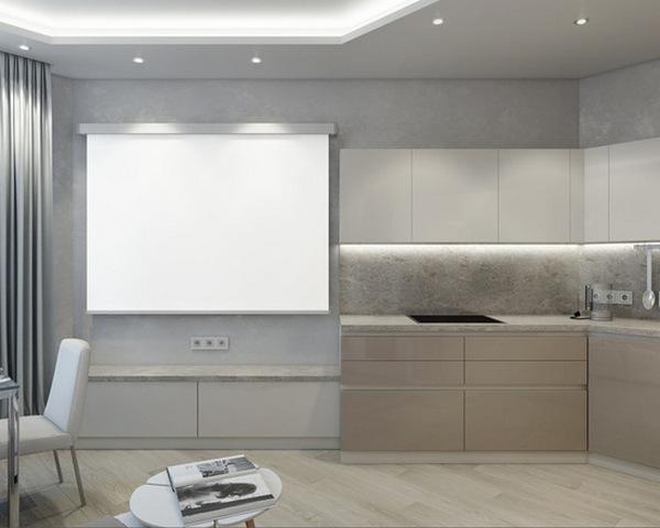 идеи интерьера в стиле минимализм квартиры фото