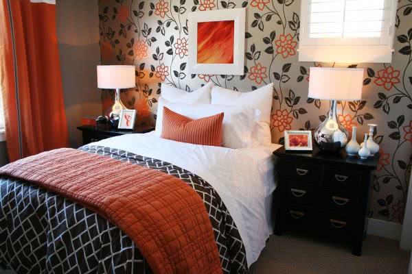 как сделать осенний декор комнаты в спальне