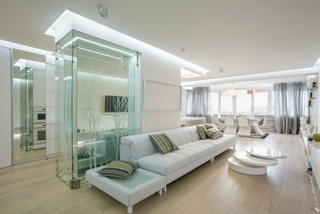 классический ремонт однокомнатной квартиры фото