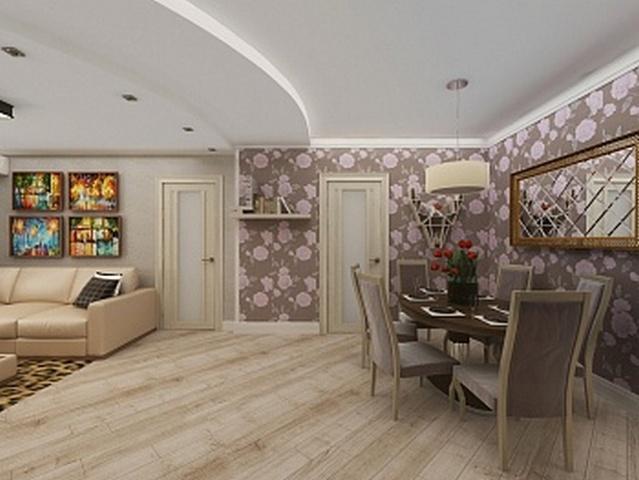 косметический ремонт однокомнатной квартиры фото
