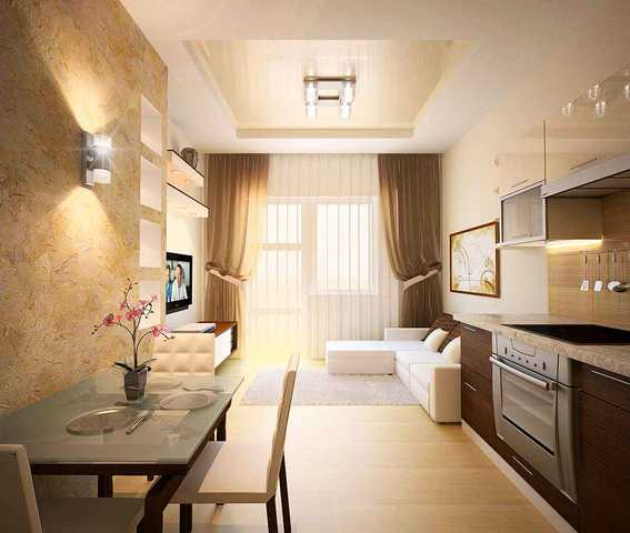 косметический ремонт однокомнатной квартиры примеры