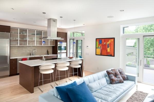 кухня студия дизайн 20 кв м