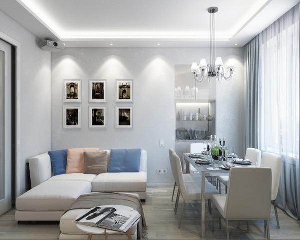 минимализм в интерьере квартиры гостиная