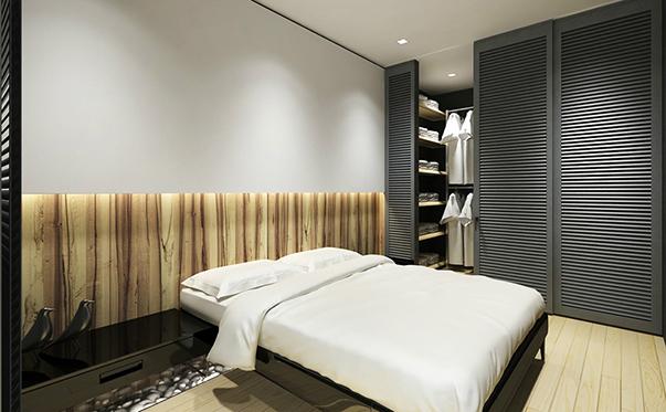 минимализм в интерьере квартиры спальня