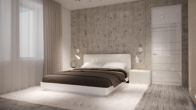 минимализма в интерьере малогабаритной квартиры спальня