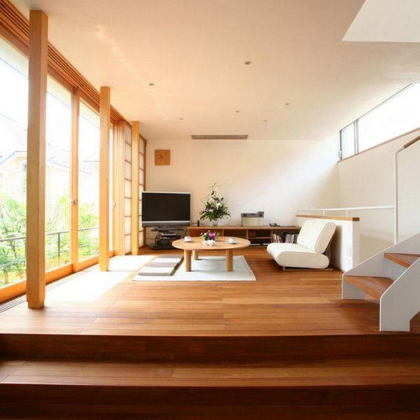 минимализм в интерьере квартиры в японском стиле