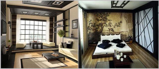 минимализм в интерьере однокомнатной квартиры япония