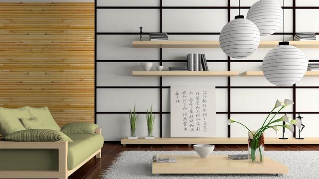 минимализм в интерьере однокомнатной квартиры японской стиль