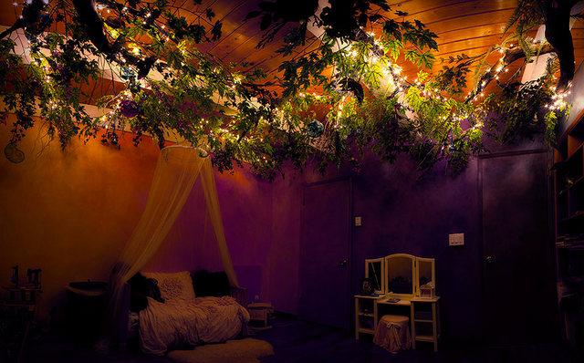 осенний декор комнаты для девочки детская