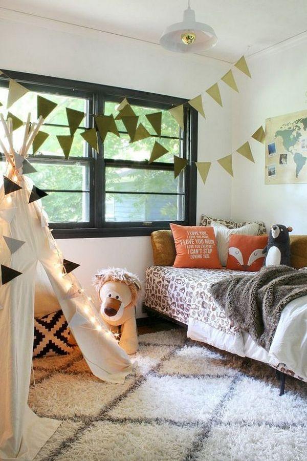 осенний декор комнаты для девочки