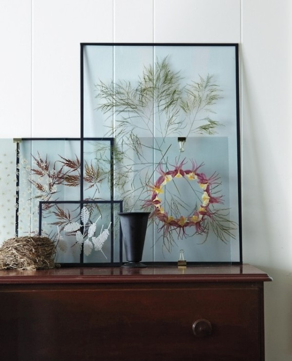 осенний декор своими руками прозрачные картины