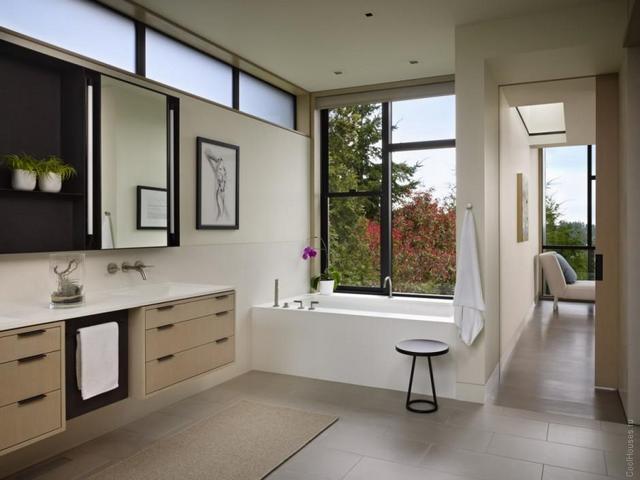 планировка гостиной в частном доме пример на фото