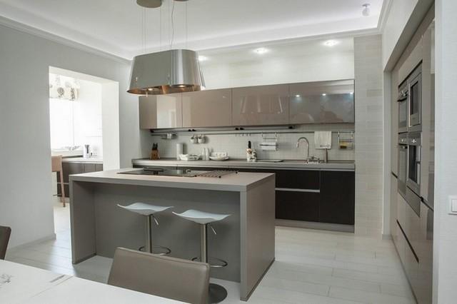 ремонт кухни в квартире студии