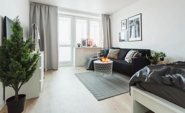 ремонт квартиры однкомнатной малогабраритной квартиры примеры