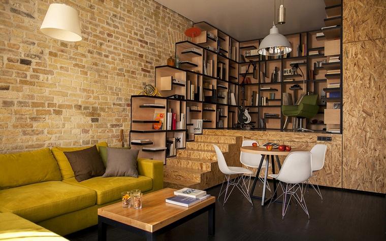 ремонт однокомнатной квартиры в стиле лофт фото