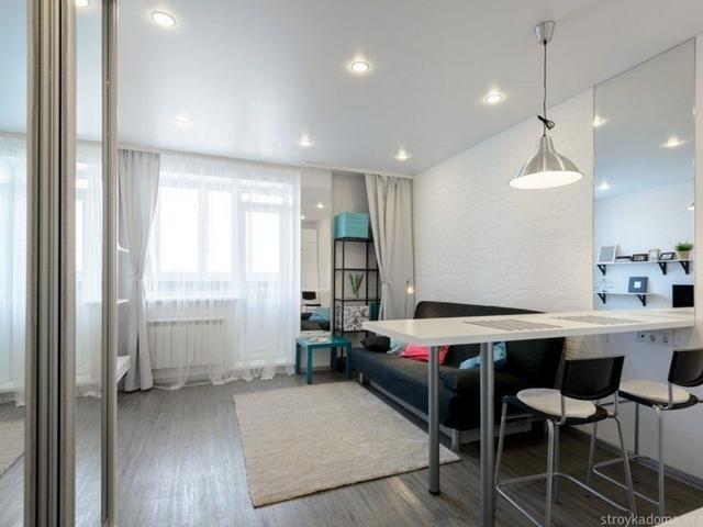 ремонт типовой однокомнатной квартиры варианты