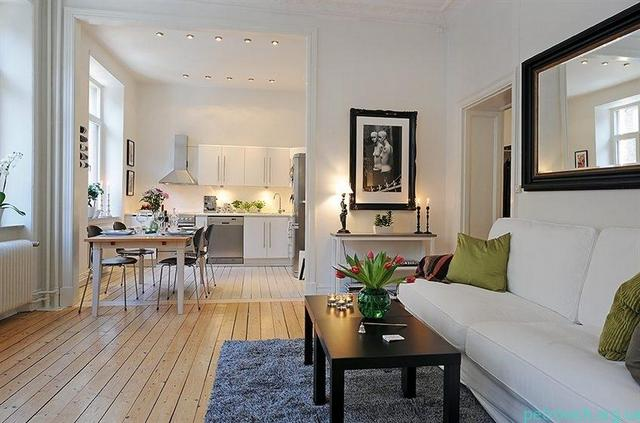 ремонт угловой однокомнатной квартиры